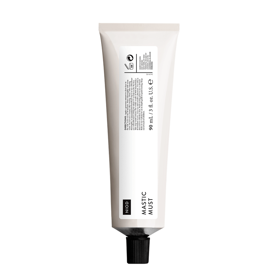 NIOD NIOD Mastic Must (MM) mask for the refinement of pores and impurities